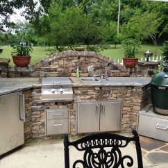 Backyard Kitchen Designs Wine Decor Sets Outdoor Design Brentwood Living Custom