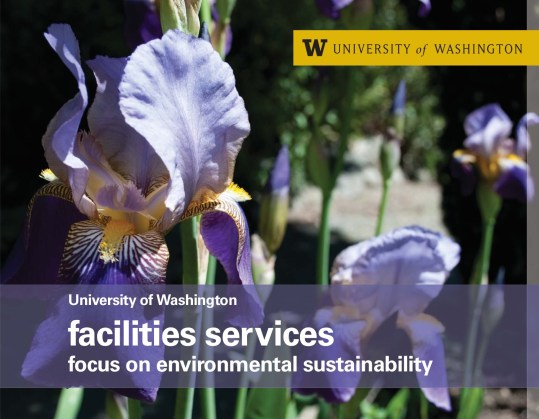 UW Facilities Services - Focus on Environmental Sustainability