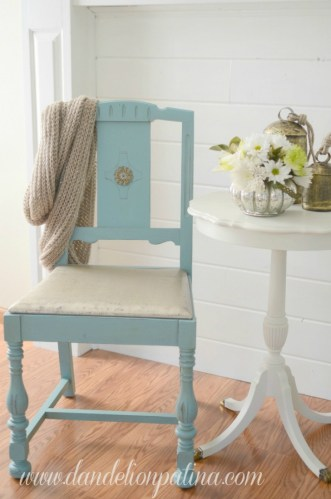 Ugly Chairs Glammed Up :: Guest Post