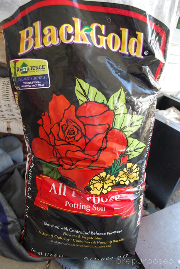 garden soil for planters