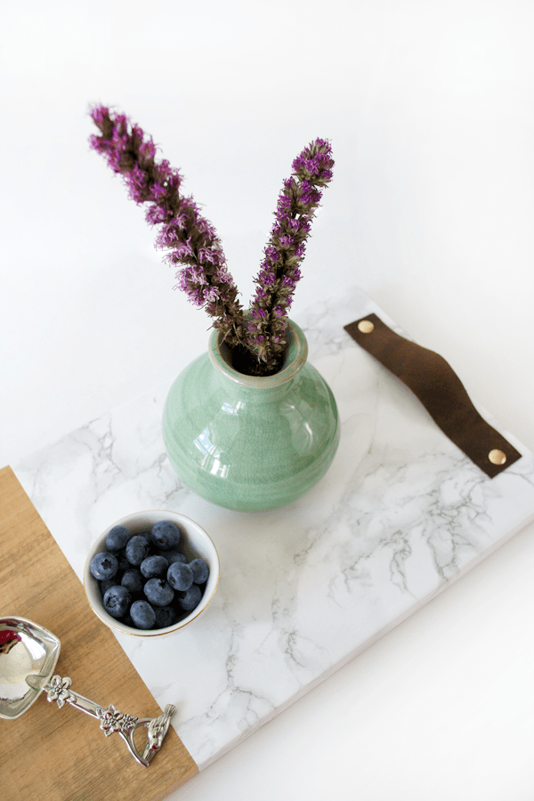 http://brepurposed.porch.com/2016/03/22/sponsored-faux-marble-wood-serving-tray/