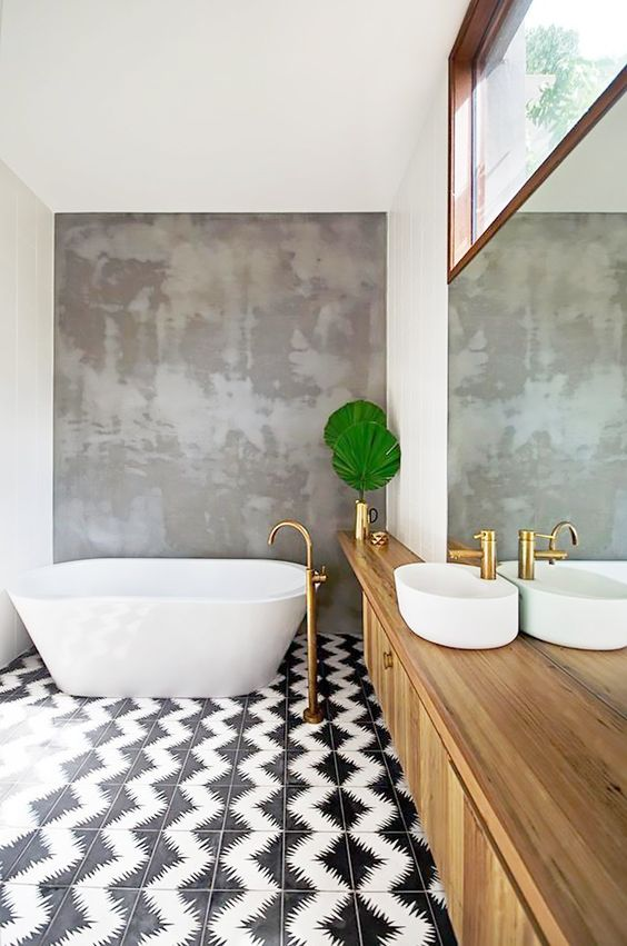 10 Gorgeously Tiled Bathrooms