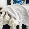 DIY Giant Tassel Throw Blanket