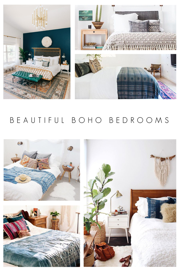 Beautiful Boho Bedrooms