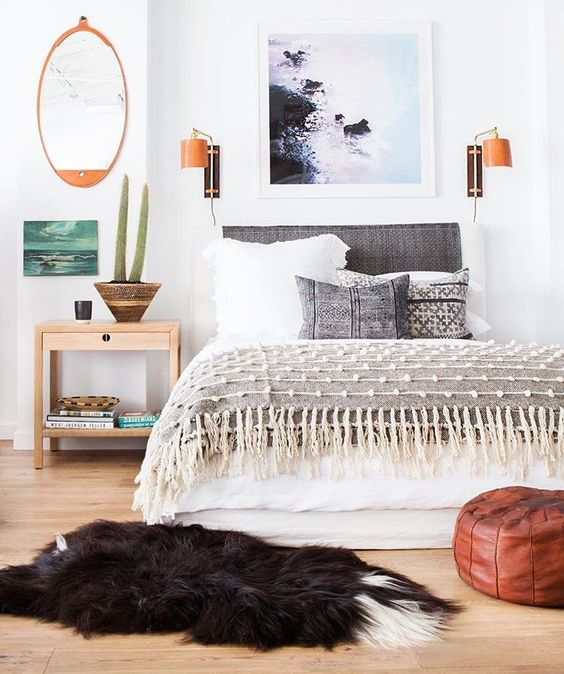 10 Beautiful Boho Bedrooms
