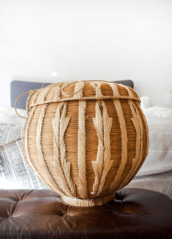 How to Turn a Basket into a Pendant Light