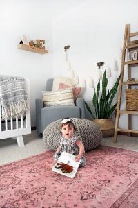 Boho Chic Girl's Nursery Reveal | brepurposed