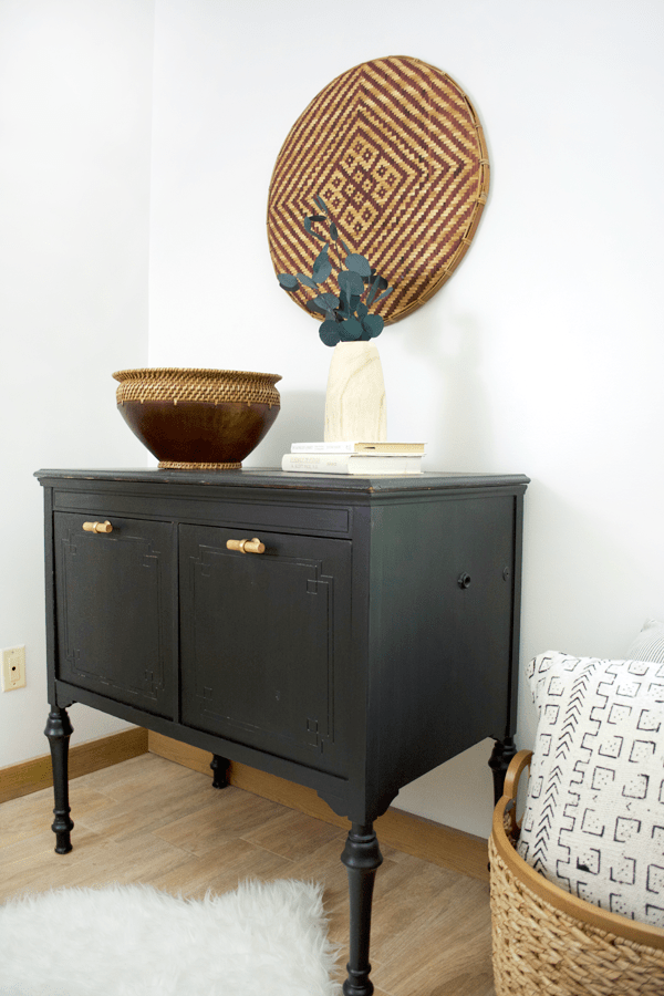 Radiola Cabinet Makeover with FAT Paint