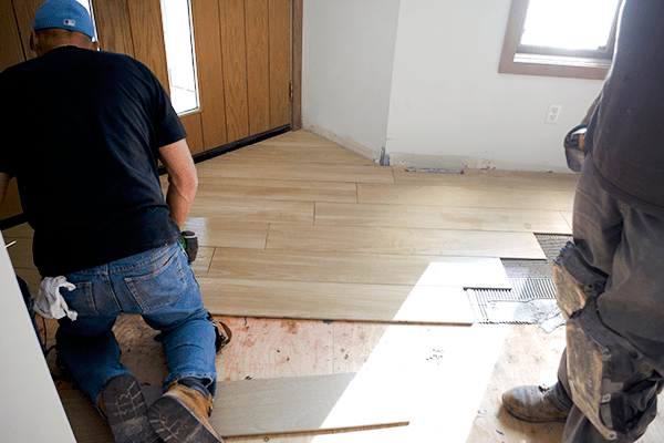 Installing Wood Look Tile Tips From A Pro Brepurposed