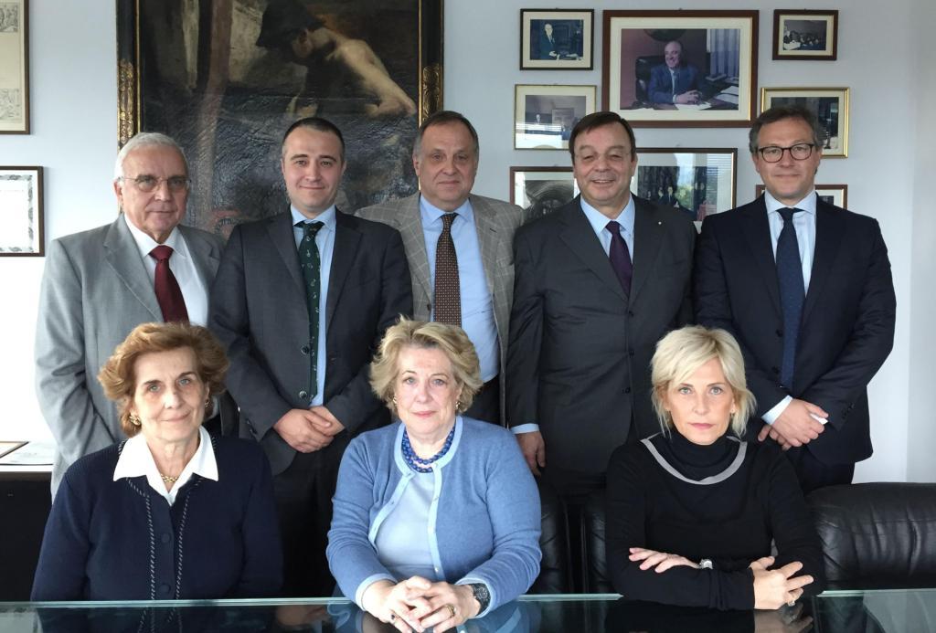Il Cda di Franco Gnutti Holding