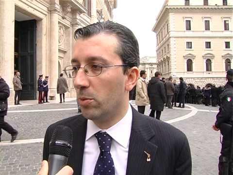 Il parlamentare leghista Stefano Borghesi