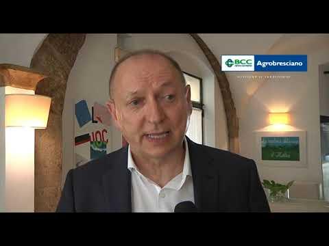 Osvaldo Scalvenzi, presidente di Bcc Agrobresciano