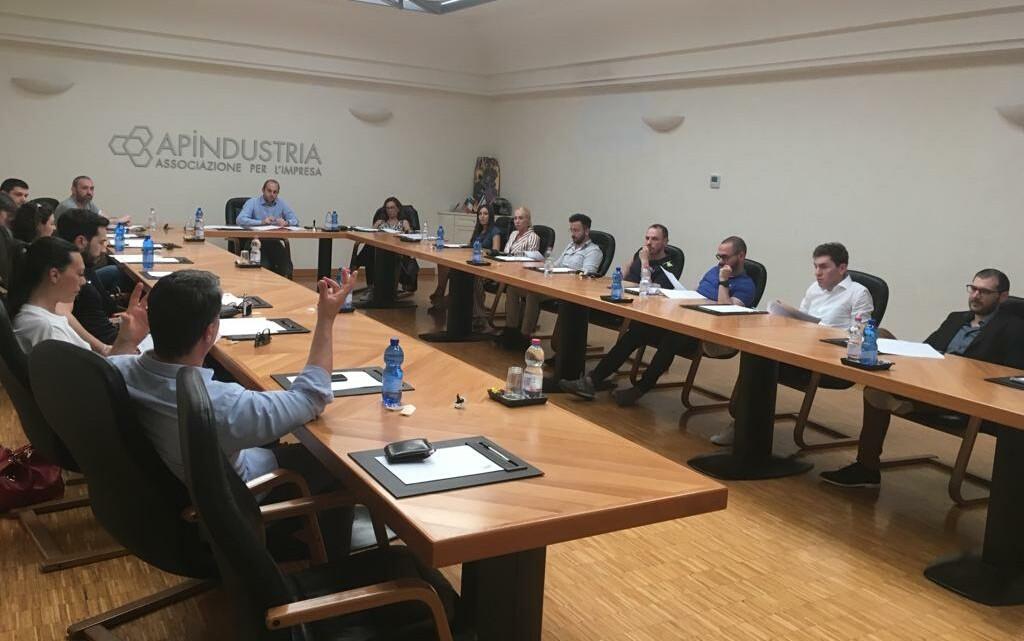 Giovani imprenditori di Apindustria Brescia