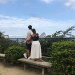 Visite du célèbre Parc de Ruinas à Santa Teresa (Rio de Janeiro) et jolie photo de couple