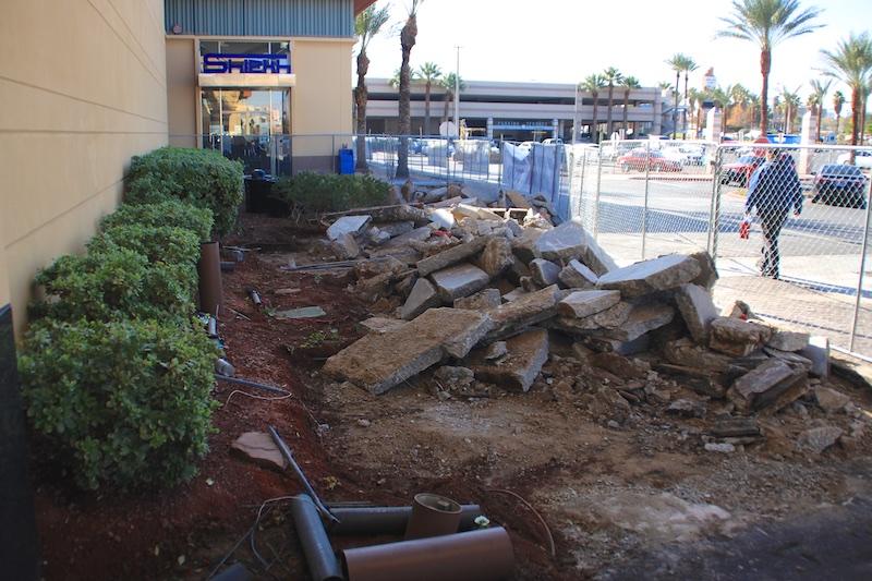 Boulevard Facade Remodel - Concrete Demo