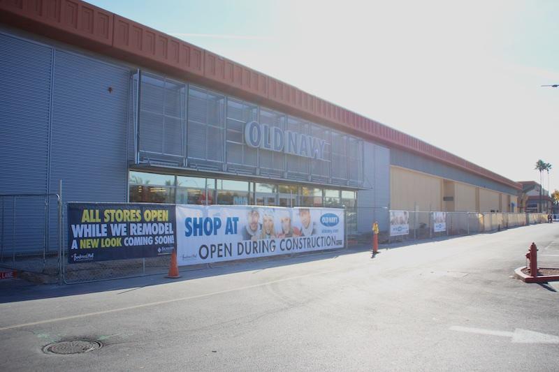 Boulevard Facade Remodel - Old Navy