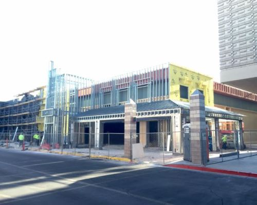 Boulevard Mall Facade Remodel Progress April 2015  - 11