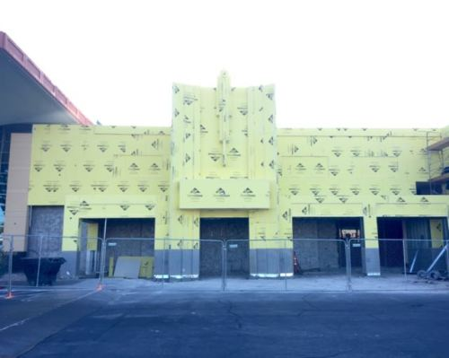 Boulevard Mall Facade Remodel Progress April 2015  - 6