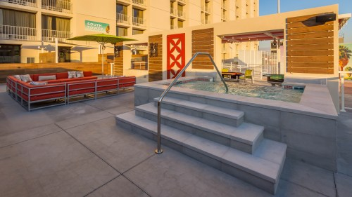 Plaza Hotel & Casino in Las Vegas, Nevada - Pool Deck Renovation 2016
