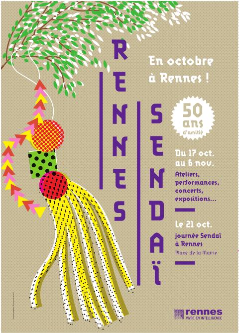 Rennes – Sendaï 50 ans d'amitié