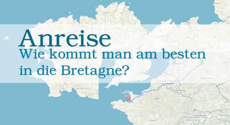 Anreise Bretagne