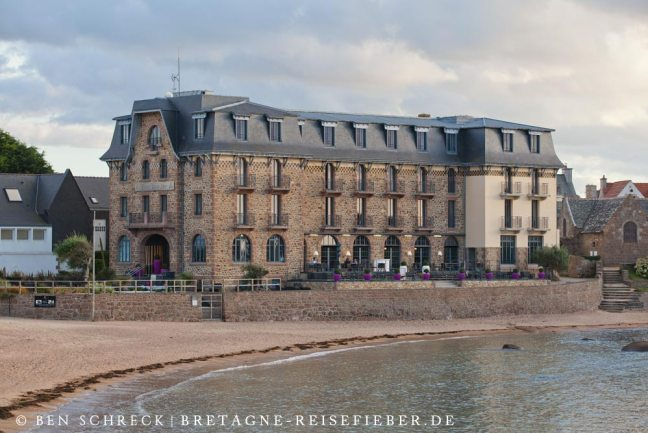 Hotel rosa Granitküste