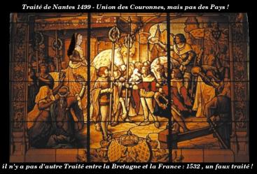 Anne de Bretagne_Traité de Nantes 1499_pas d'union à la France