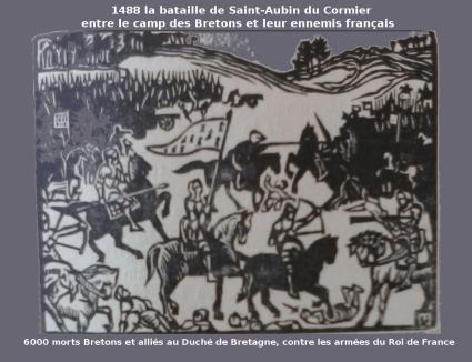 1488_st Aubin du Cormier_La Bataille