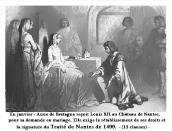 1499 Anne de bretagne et Louis d orléans