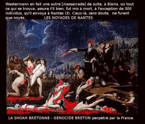 NOYADES Nantes et massacres Blain_Shoah bretonne