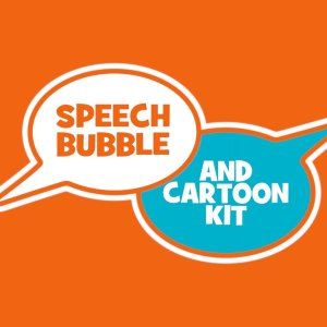 speech bubble logo ms