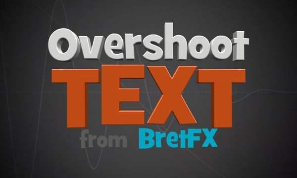 Overshoot Text demo
