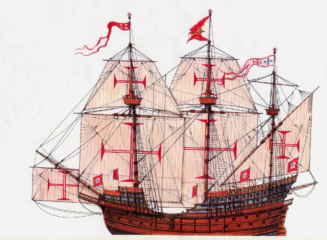 hight resolution of galleon