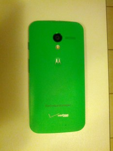 Moto X back side without case.