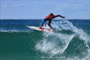 Ben Howard WINNER Mark & Kim Windon Award for Outstanding Surfing over the weekend.