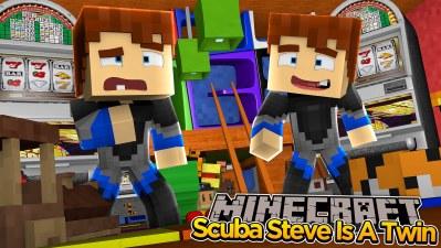 Scuba Steve Minecraft