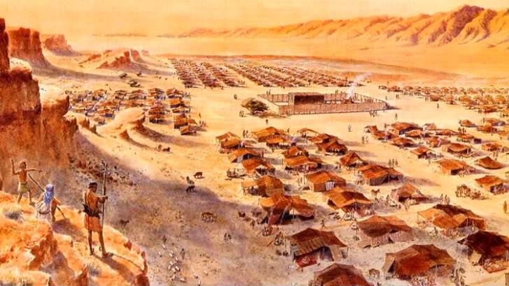 Manna in the desert