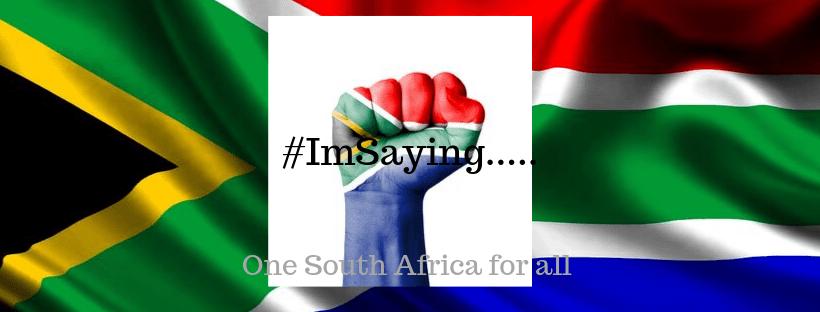 #ImSaying thoughts