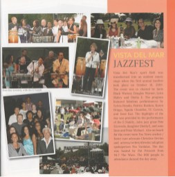 The kid's Vocal Group I directed at Vista performed 2 songs with Sheila E and the E Family for JazzFest. It was a blast