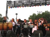 Performing at Jazzfest with the Vista Vocal Group and Sheila E and Family