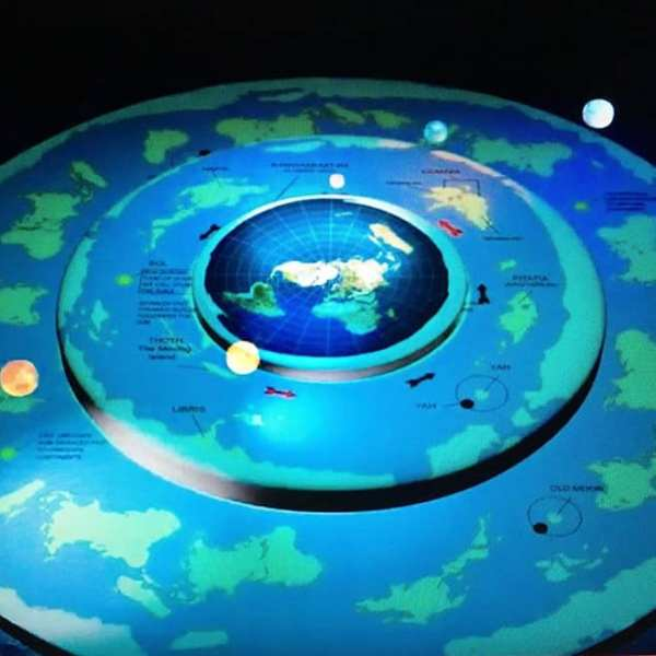 """The Outerlands: Earth, not a ball spinning through spaceland, but it's far more than """"flat""""..."""