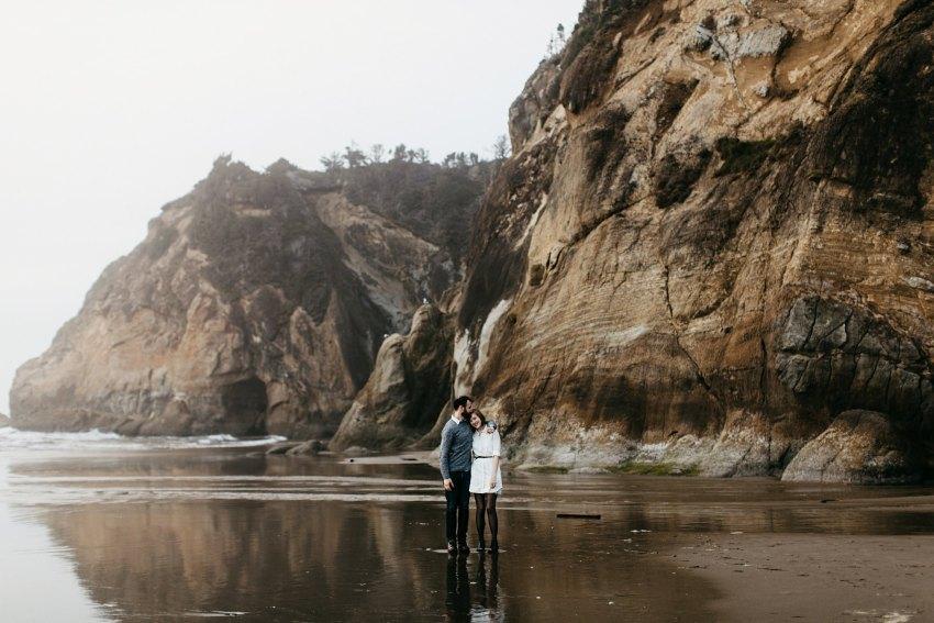 Cannon Beach / Portland Engagement Photographers