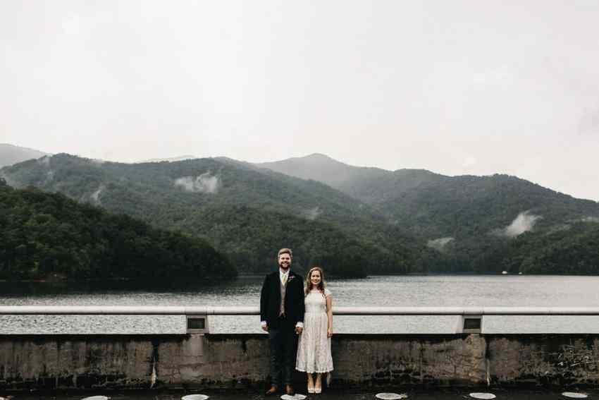 fontana dam wedding
