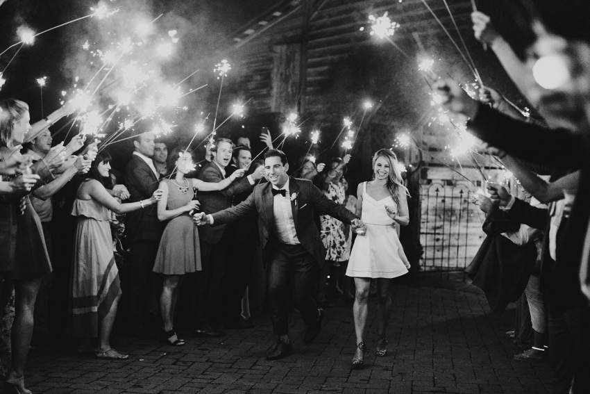 best wedding exit photos