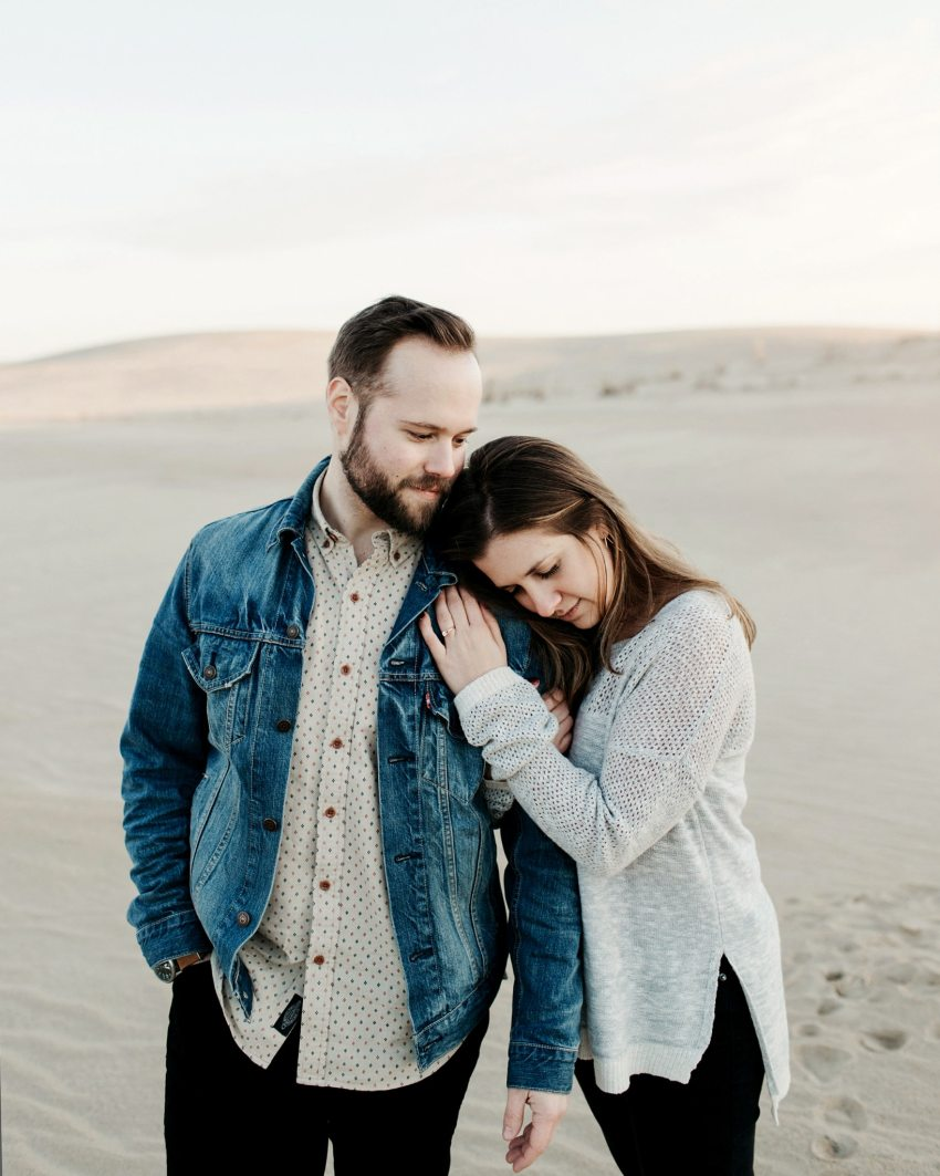 hipster engagement shoot north carolina