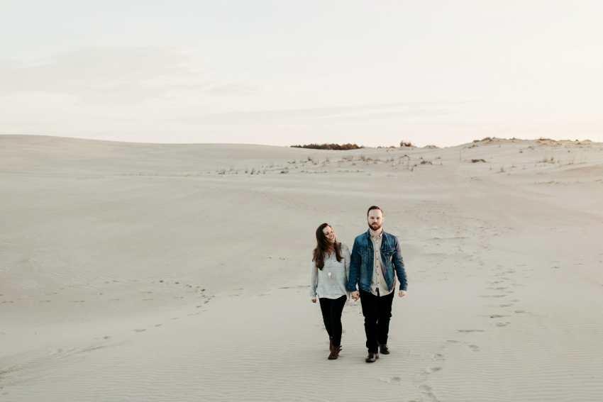 desert sand dune engagement