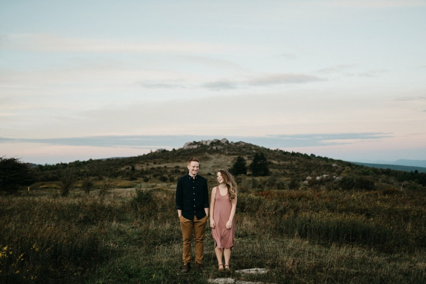 grayson highlands engagement shoot