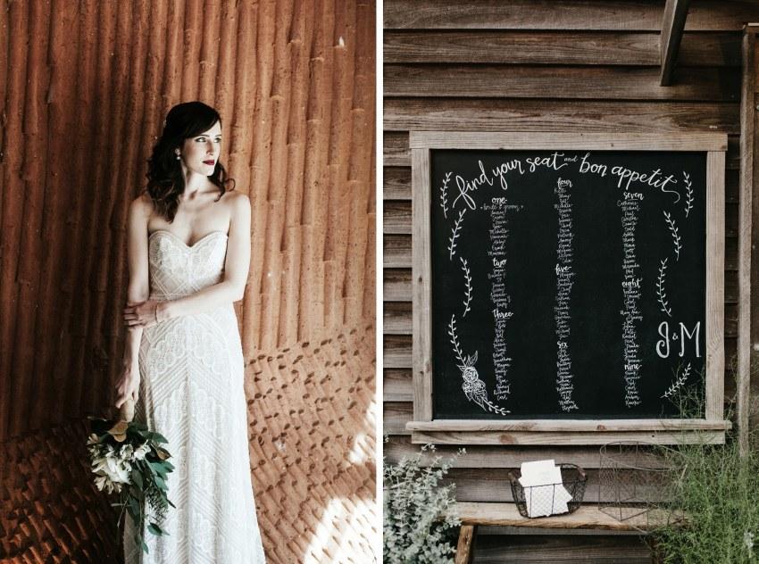 modern raleigh wedding