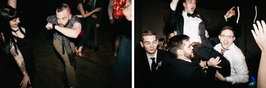 asheville wedding reception photos