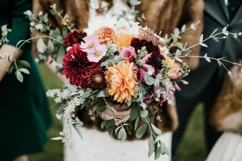 bar harbor maine wedding flowers